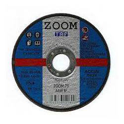DISCO CORTE PLANO AC-INOX ZOOM 75 115